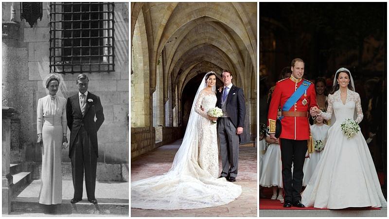 Wallis Simpson to Kate Middleton: 10 gorgeous royal wedding dresses of all time