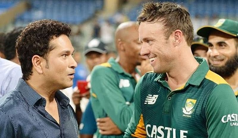 Sachin Tendulkar wishes AB de Villiers: May you have 360-degree success off the field as well