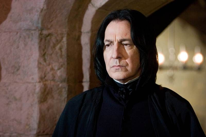 Alan Rickman was 'frustrated' with Severus Snape