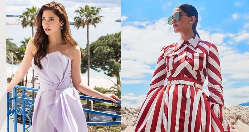 Cannes 2018: Mahira Khan is elegance personified, Sonam Kapoor goes for striped look