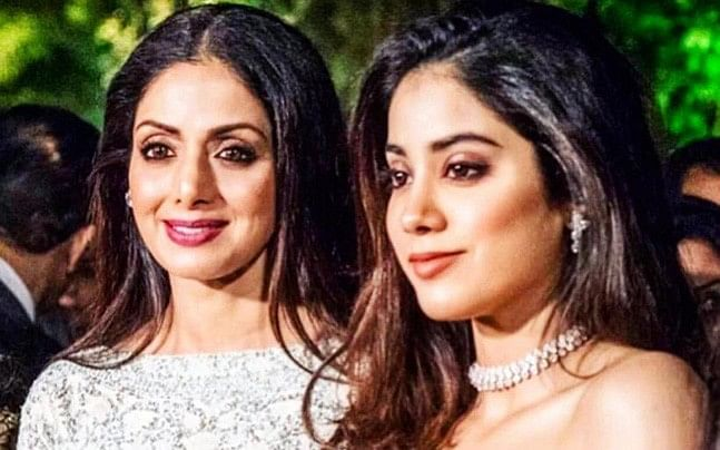 Janhvi Kapoor talks about mom Sridevi first time ever after her untimely death