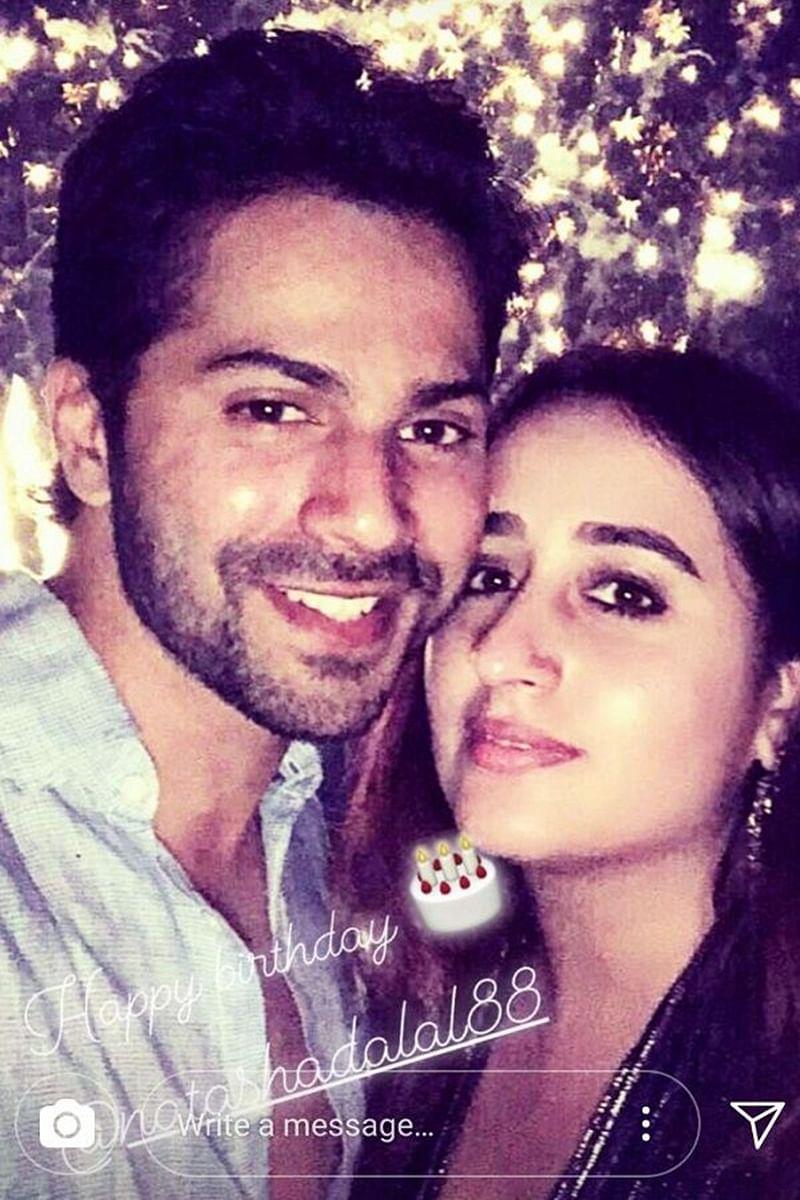 LOVELY! Varun Dhawan's cute birthday wish to his alleged girlfriend Natasha Dalal will make you feel love