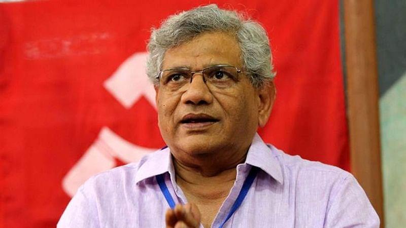 "Center allowed ""loot"" to take place in country: Sitaram Yechury on Vijay Mallya"