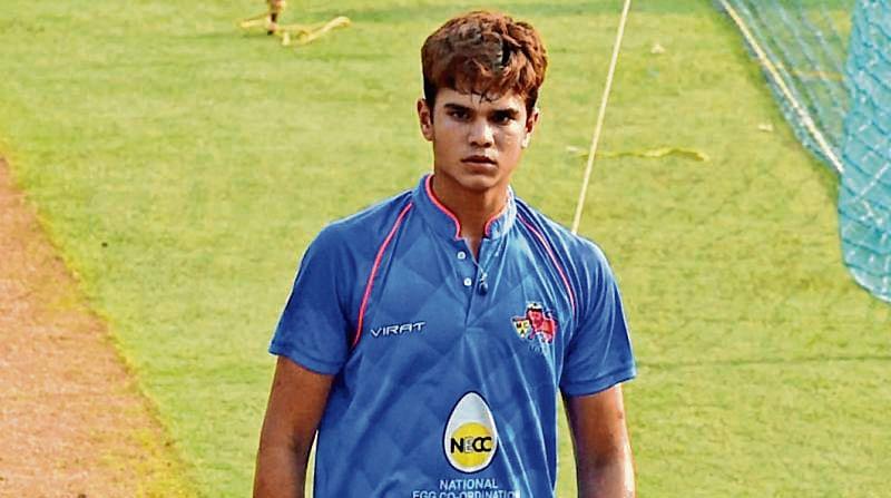 Arjun Tendulkar breaks into India U-19 team for SL