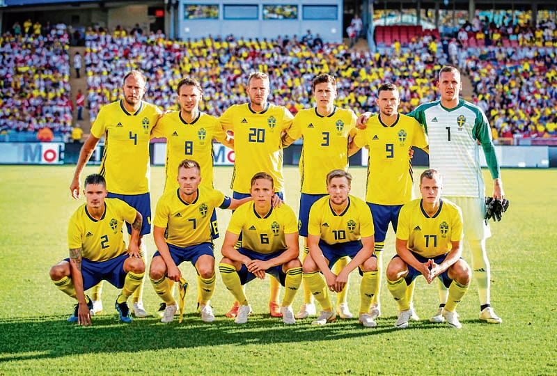 Sweden return to WC with great ambitions