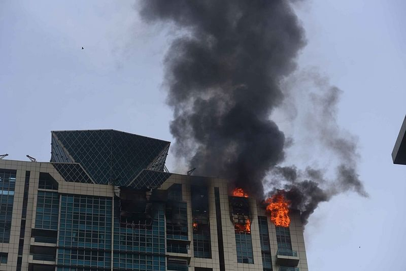 Mumbai: Fire at Prabhadevi high-rise exposes that firefighting equipment can't access topmost floor