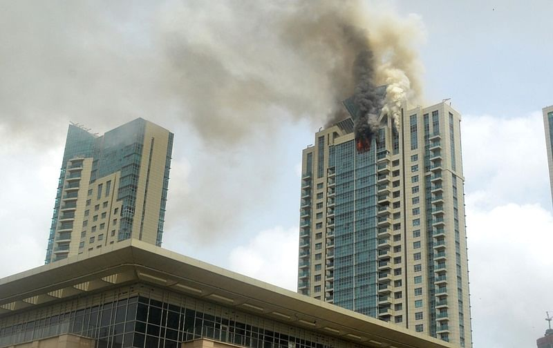 Mumbai: Buildings with more than 30 floors should be capable of tackling fires on its own, says BMC official