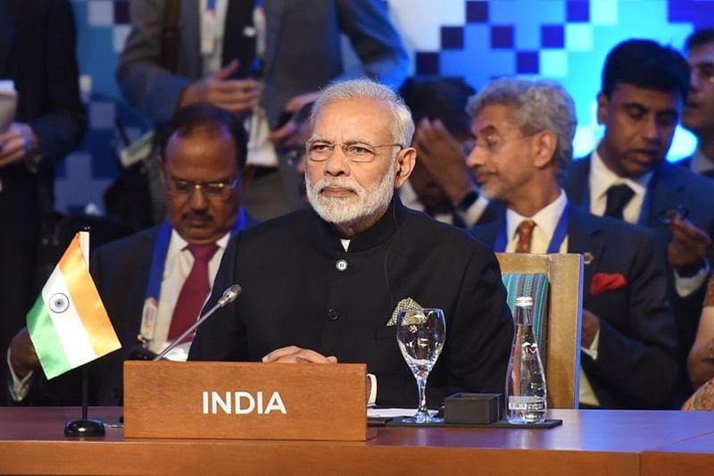 The Prime Minister, Shri Narendra Modi at the 12th East Asia Summit, in Manila, Philippines on November 14, 2017.