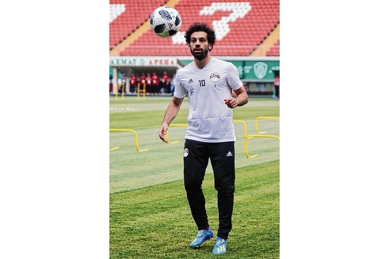 Salah to play in Egypt's next tie against Russia