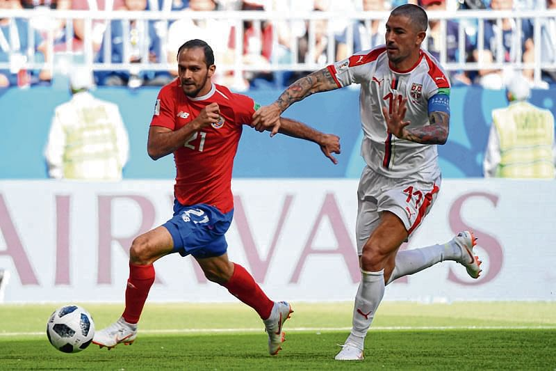 Kolarov's free-kick lifts Serbia to 1-0 win over Costa Rica