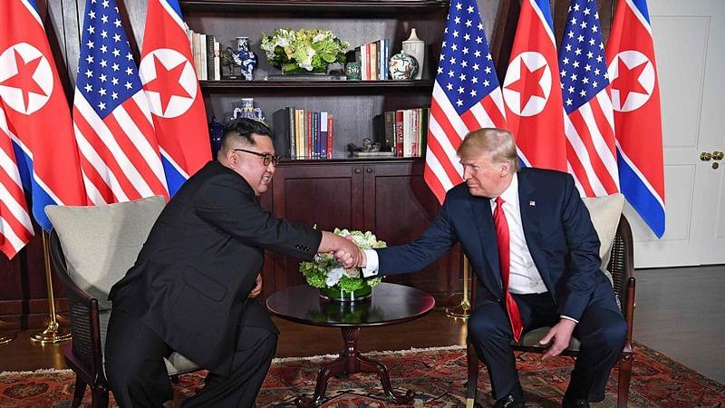 'Say hello': Donald Trump invites Kim Jong to meeting at North-South Korea border