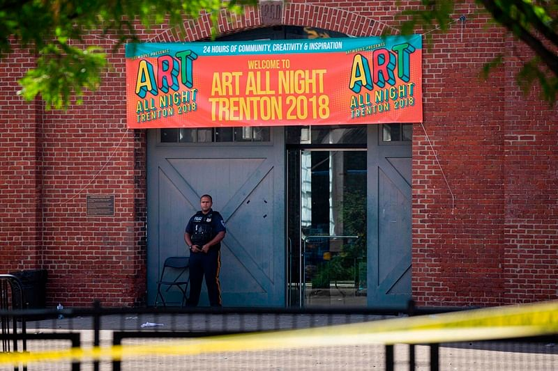 New Jersey shooting: 22 injured in shooting at art festival, suspect killed