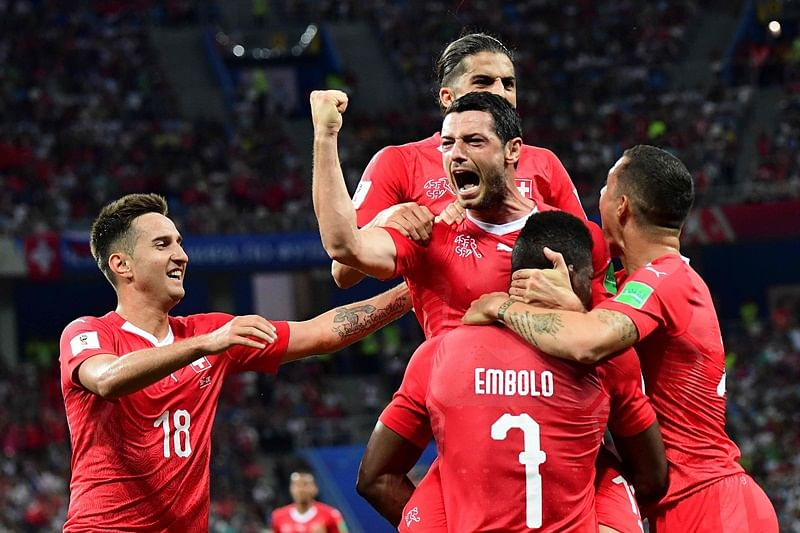 FIFA World Cup 2018: Switzerland qualify for knockouts after 2-2 draw with Costa Rica
