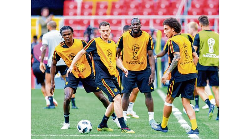 The Eagles stand between Belgium and knockout berth