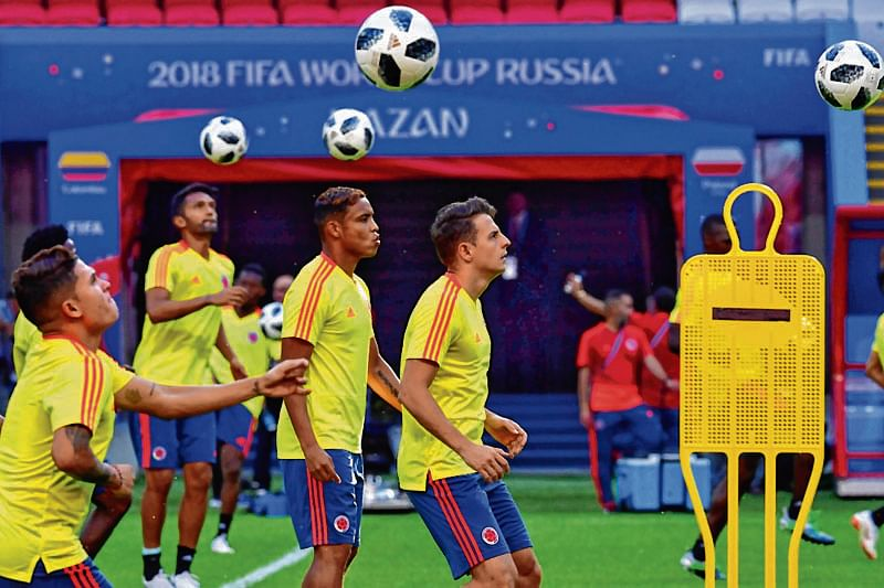 Colombia, Poland aim to recover from defeats