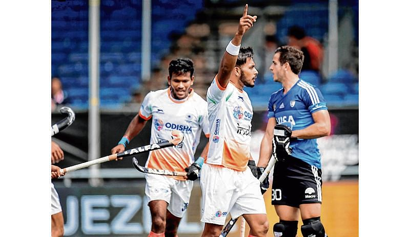 India rout Argentina, continue unbeaten run