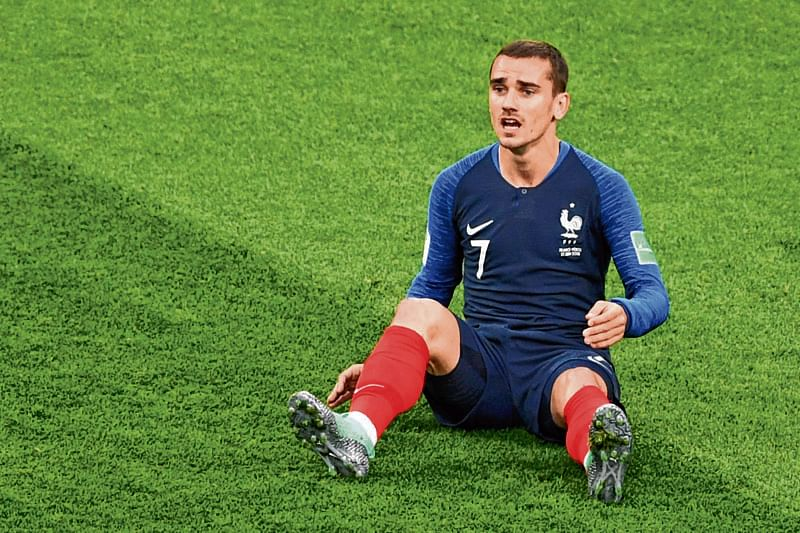 France's forward Antoine Griezmann