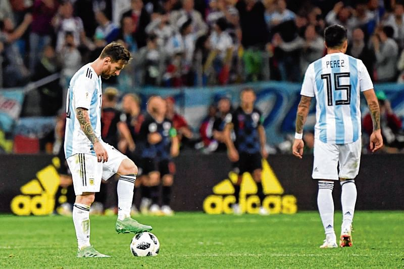 Can wounded Messi clip  Eagles' wings?