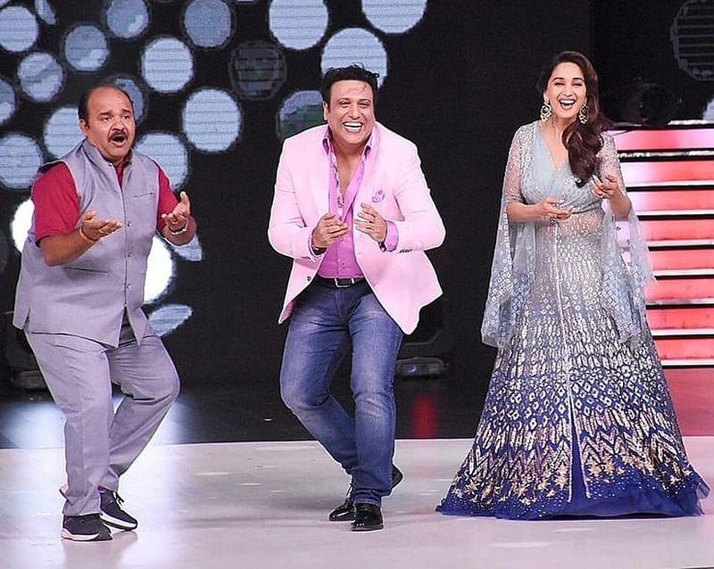 Dancing Uncle Sanjeev Shrivastava finally meets his idol Govinda on Dance Deewane