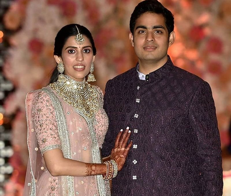 Akash Ambani-Shloka Mehta pre-engagement bash; who wore what