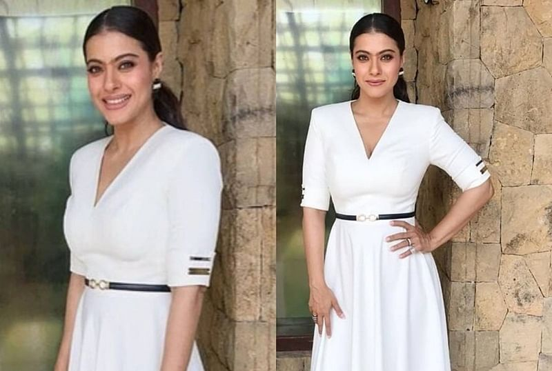 Ouch! Kajol slips and falls at an event; incident captured on camera; watch video