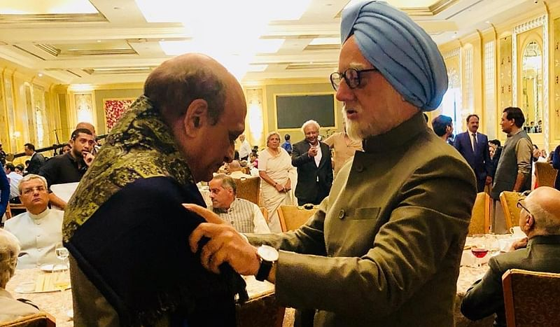 'The Accidental Prime Minister': Anupam Kher introduces Ajit Satbhai as PV Narasimha Rao, check out
