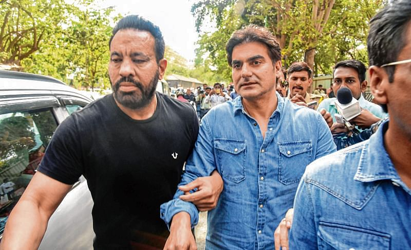 Arbaaz confessed to having placed bets earlier, say cops