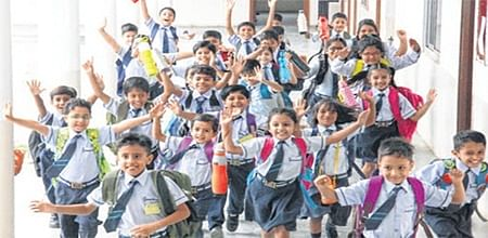 Indore: Back to school with hope and joy