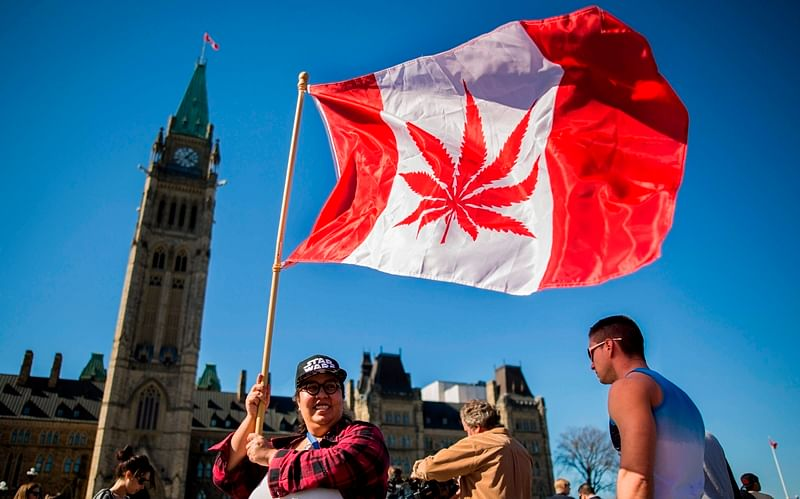 , Canada. / AFP PHOTO / Chris Roussakis