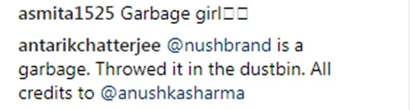 OMG! Anushka Sharma termed as 'Garbage Lady' on Instagram for scolding litterer; read shocking comments