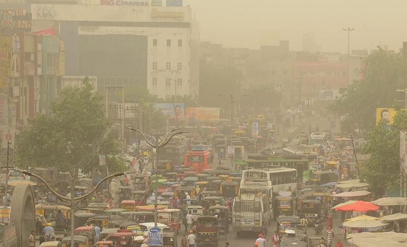 Delhi sees sudden rise in air pollution