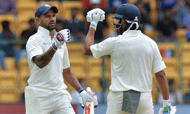 ICC Test rankings: Shikhar Dhawan reaches career-best 24 spot, Vijay and Jadeja move up too