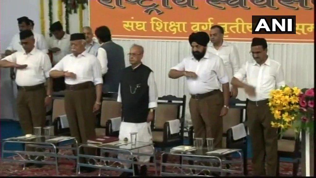 News alerts: Former President Pranab Mukherjee attends RSS Tritiya Varsh event in Nagpur