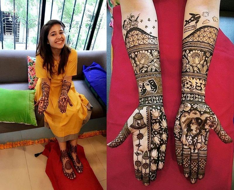 Shweta Tripathi's mehendi reflects her real love story