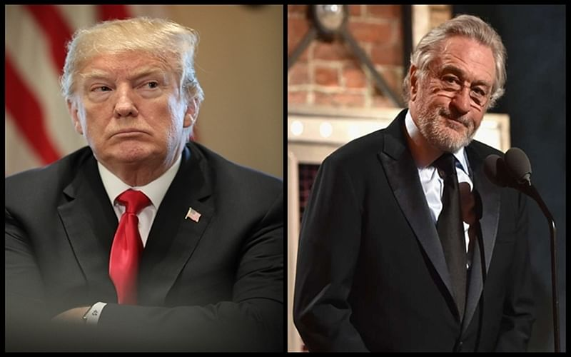 US President Donald Trump hits back at Robert De Niro, calling him a very low IQ individual