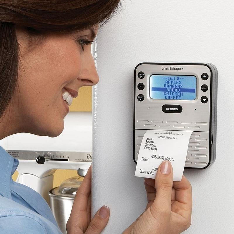 Grocery List Organiser to Digital Shower: High-tech aid for elderly