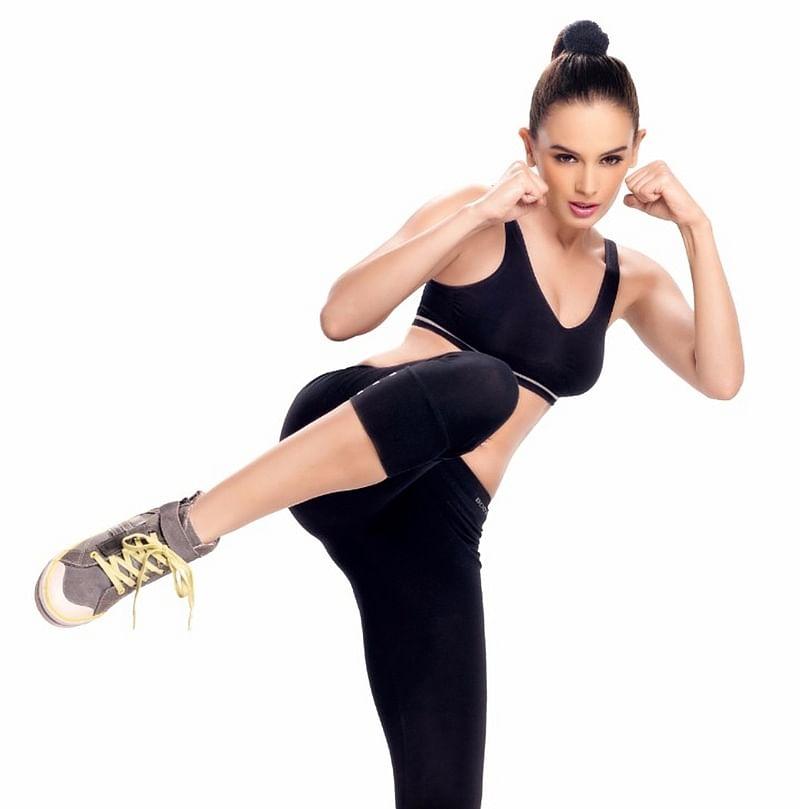 Evelyn Sharma turns 'Action Girl' for Saaho