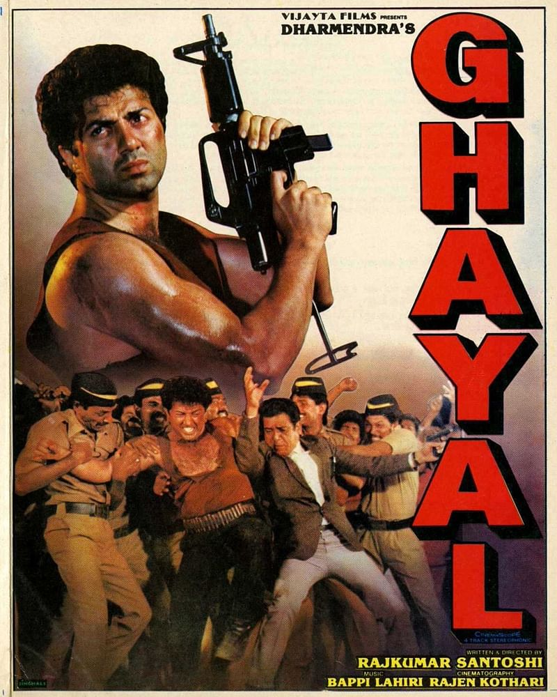 On This Day In Bollywood – June 22, 1990! Sunny Deol's career-changing film Ghayal screamed into theatres
