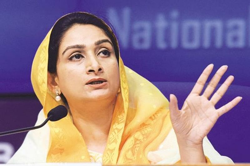 Mistrust between India, Pakistan can be removed through message of peace, love: Harsimrat Kaur Badal