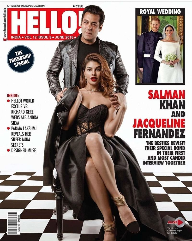 Race 3: Ahead of Allah Duhai Hai song release, Salman Khan and Jacqueline Fernandez create sparks on magazine cover