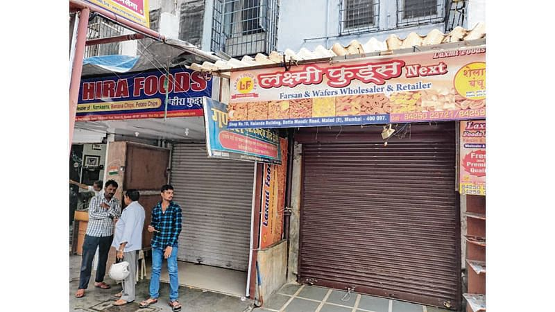MANY SHOPS STAYshut out of FEAR