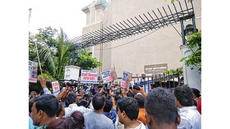 Mumbai: Lloyds Estate residents in Wadala living in constant fear after back-to-back wall cave-ins