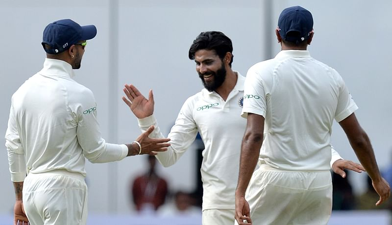 India vs West Indies: Ravindra Jadeja's offbeat style to run out Shimron Hetmyer impresses fans, watch video