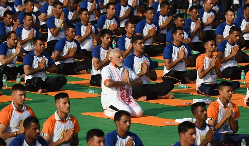Yoga can unite a conflict-ridden world: PM