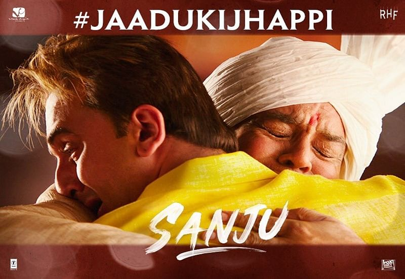 Sanju – Father's Day special teaser: Ranbir Kapoor and Paresh Rawal recreate Jaadu Ki Jhappi moment from Munna Bhai MBBS