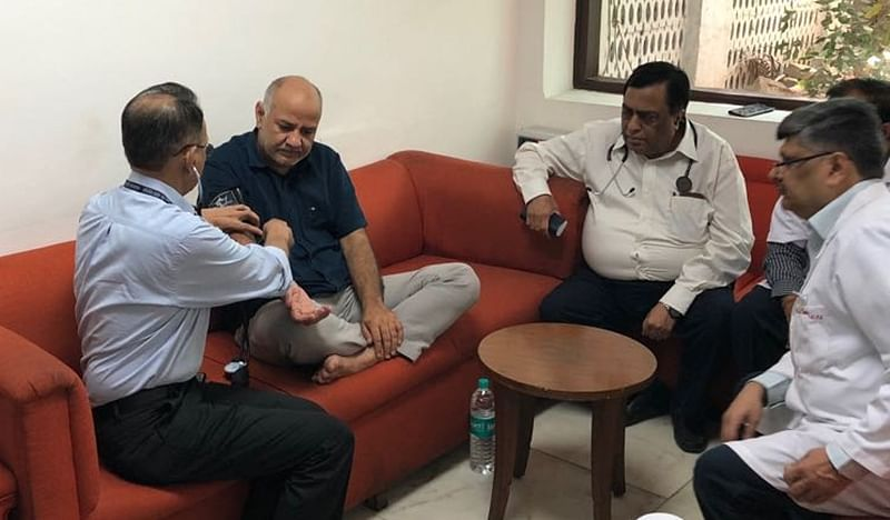 Arvind Kejriwal on dharna: Dy CM Manish Sisodia's health worsens, shifted to hospital