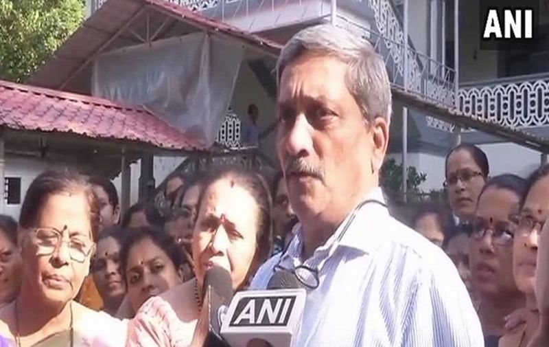 CM Manohar Parrikar back in India after two months of treatment in US