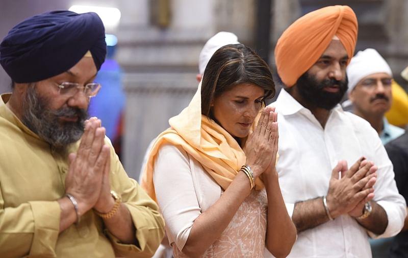 Delhi Sikh gurdwara committee requests Nikki Haley to address issue of 52 Indian asylum-seekers held in US