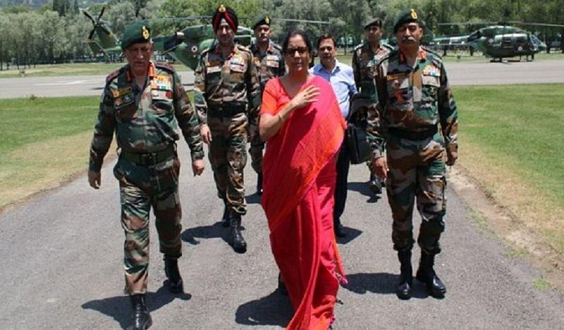 Karnataka floods: Defence Minister Nirmala Sitharaman announces Rs. 1 crore aid