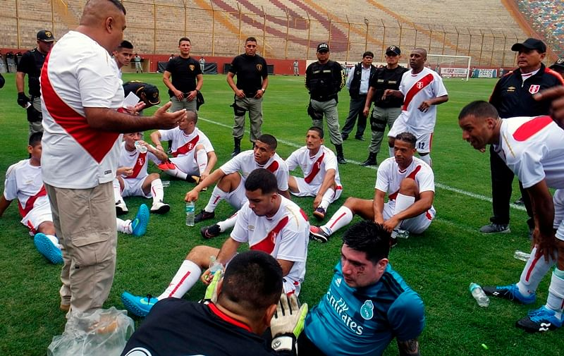 FIFA World Cup 2018: Peru gets out of jail to win prisoners 'World Cup'